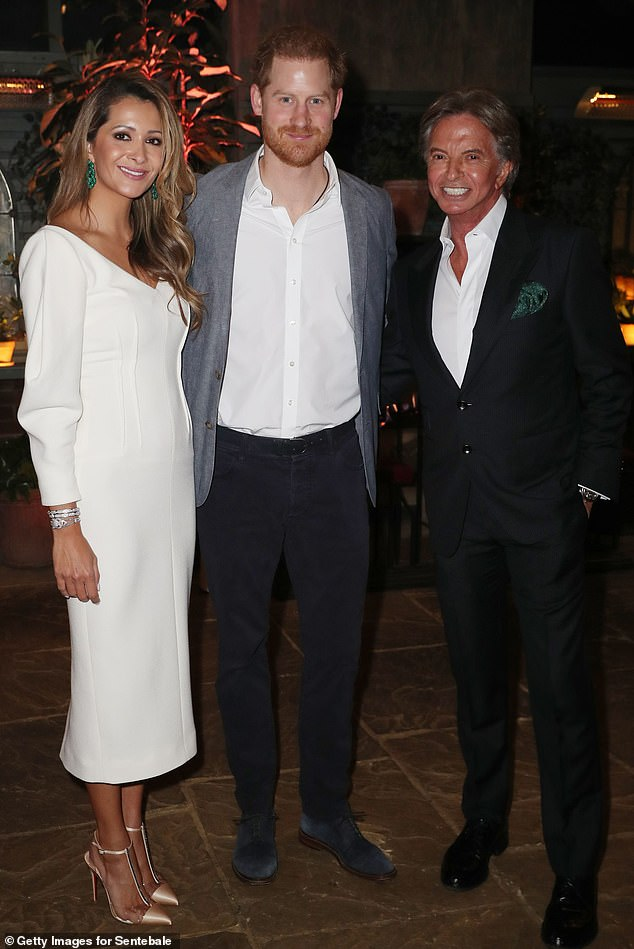 Restaurant billionaire owner was flabbergasted when Harry made a passionate speech about Royals abandoning