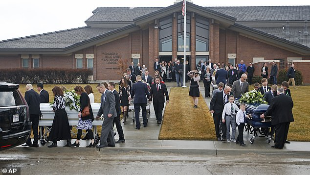 Funerals for the mother, her two daughters and son were held on Friday at The Church of Jesus Christ of Latter-day Saints
