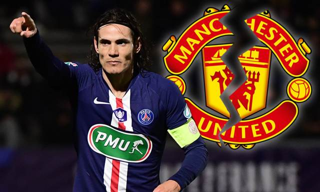 Edinson Cavani 'rejects Manchester United offer' as Atletico Madrid boss Diego Simeone swoops | Daily Mail Online