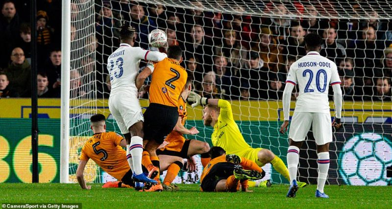 Mitchy Batshuayi had got Chelsea off the mark inside eight minutes by slotting the ball through a series a Hull defenders