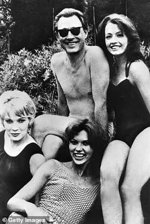 The Denning Report enthralled the public with its details of sexual misconduct, which included a sado-masochistic sex party attended by society osteopath Stephen Ward, who had been at the heart of the Profumo scandal, and Mandy Rice-Davies. Ward is pictured centre, with Christine Keeler, right