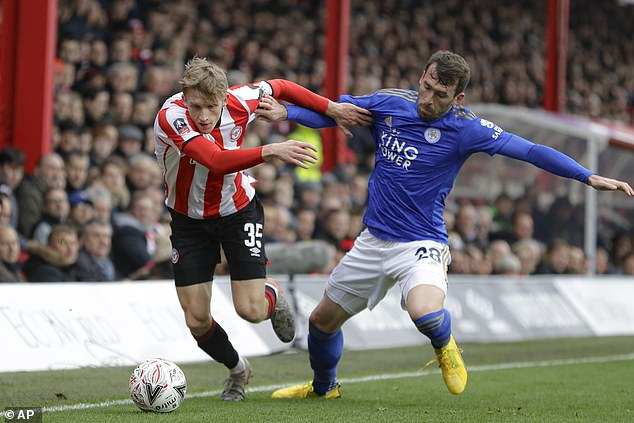 Christian Fuchs and Morgan are out of contract in June but played key roles at Brentford