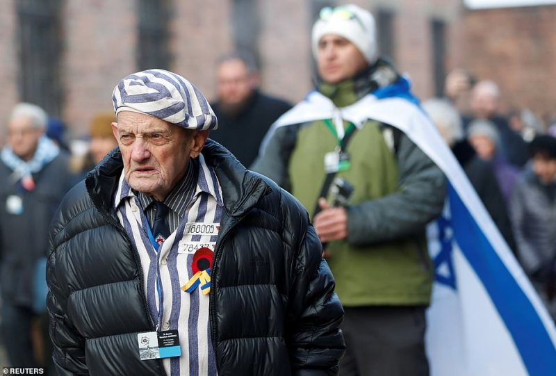 Mr Malicki was 89 when he first returned to Auschwitz, five years ago, at what was the then 70th anniversary of the camp's liberation