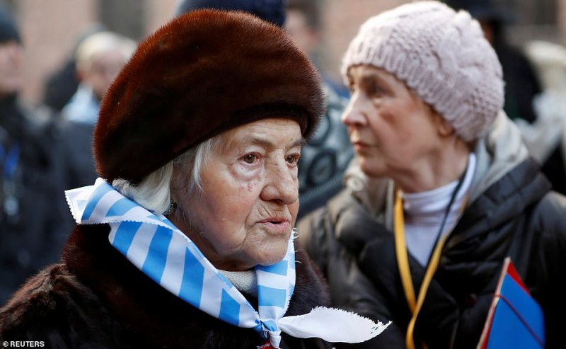 Many of the survivors said they wanted to come to pay homage to those they had lost during the war, as well as to draw the world's attention to the atrocities as a reminder to not let history repeat itself