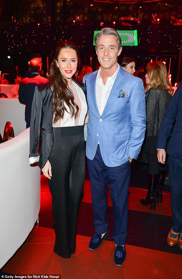 But Jessica's husband, Ben Mulroney (pictured together in 2018), 43, a TV host and the oldest son of former Canadian Prime Minister Brian Mulroney, rushed to his wife's defence following the harsh accusations