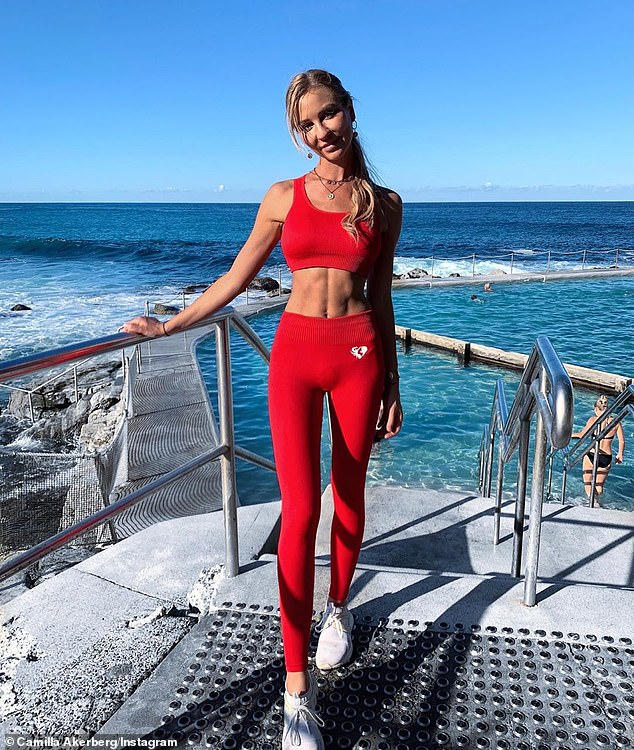 For the personal trainer (pictured), ab exercises are all about holding your body in slightly uncomfortable positions to ensure the abs are targets