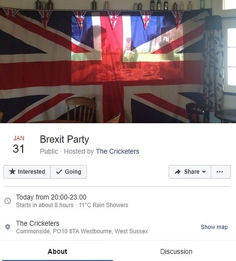 Elsewhere, in Essex and in Hampshire, events will be taking place this evening to mark Britain's departure from the European Union