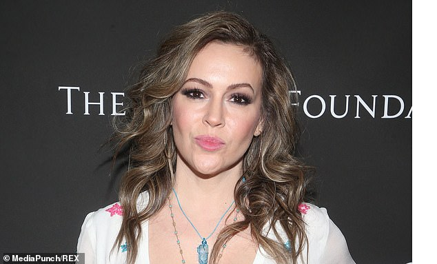 Actress and activist Alyssa Milano tweeted that Senator Romney was 'courageous' for choosing to vote to convict Trump of the abuse of power charge at his impeachment trial