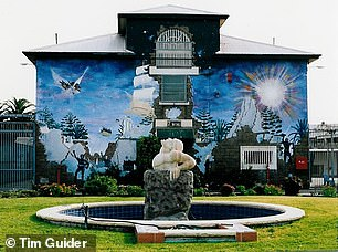 Tim Guider painted four enormous murals at Long Bay prison between 1986 and 1988 while he was serving a sentence for bank robbery