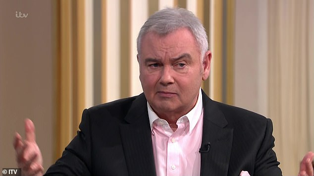 Insensitive?After Phillip's emotional interview, Eamonn and wife Ruth Langsford, who present the Friday show, joined the duo on the sofa