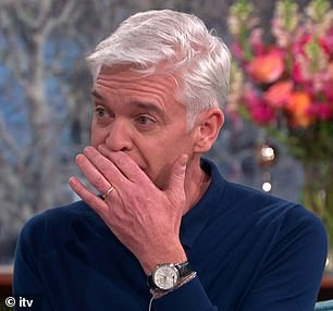'Feeling lighter and lighter': Phillip announced he is gay in an impassioned post shared to Instagram before appearing on This Morning to discuss the news with his co-star Holly