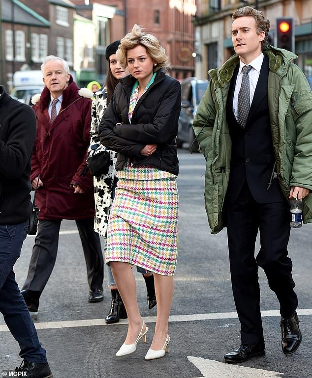 The Crown season four: Emma Corrin portrays Princess Diana ...