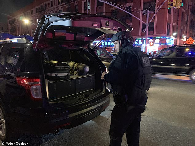 An NYPD cop is expected to survive after being shot in his patrol car in the Bronx on Saturday