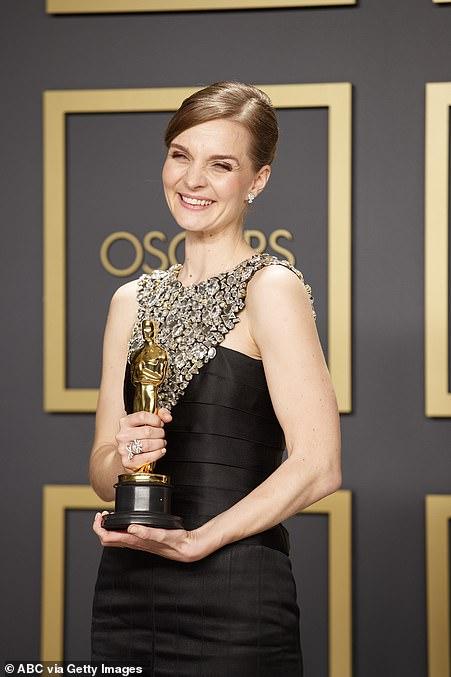 Making history: Hildur Gudnadóttir was the first ever woman to win Best Original Score for Joker