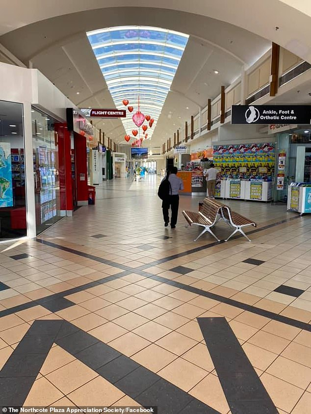 Many shopping plazas, like the Northcote Plaza in Melbourne (pictured) have seen a decline in visitors, as rents skyrocket for small businesses