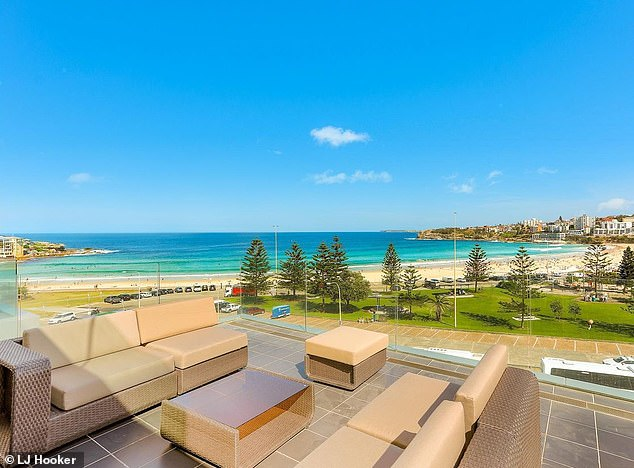 Wow!Two balconies connect to a spacious outdoor terrace, which is perfect for entertaining or relaxed afternoons with friends and family