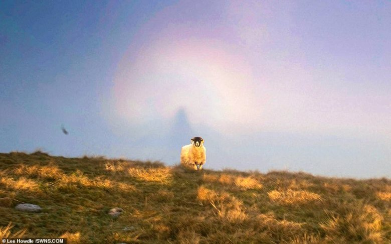 Howdle, who stood on Mam Tor, a 1,696-foot hill in the High Peak area of the National Park, captured the stunning scene using his Canon 5d Mk4 camera