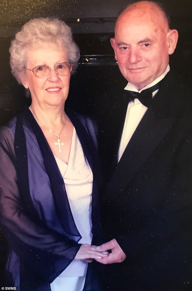 The pair celebrating the millennium in 2000. Vic said Glennis was his best-friend, and that it was a honour, having been married to her for so long