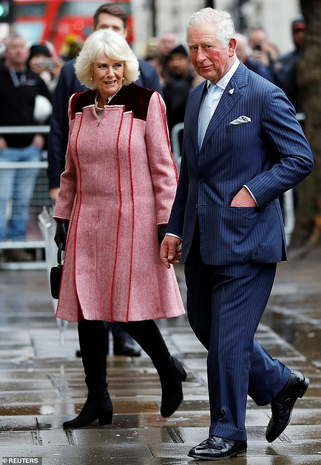The Prince of Wales, 71, and Camilla, 72, visited the World Heritage Site to mark 535 years since the creation of Yeoman Warders - nicknamed Beefeaters - this morning