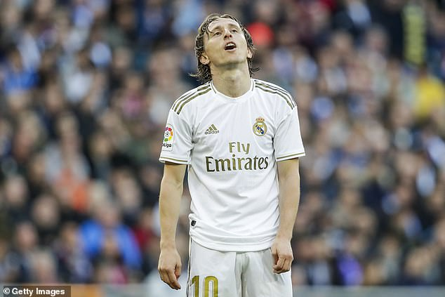 Luka Modric is expected to leave Madrid in the summer and Brozovic could be his replacement
