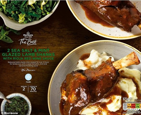 If they then opt for Lamb Shanks with Rioja sauce as their main, will be adding on an extra 524 calories to their meal