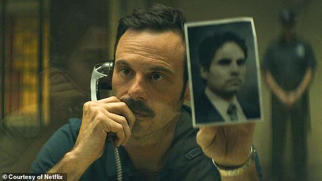 Users can access interviews and behind-the-scenes footage from original series like Narcos (pictured) and Elite – all of which will be shot with the new Galaxy S20 smartphones