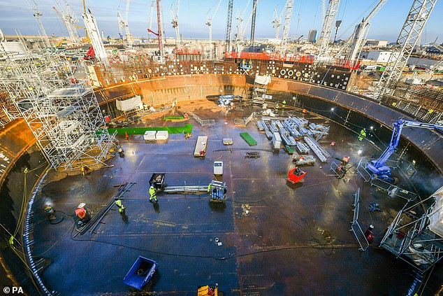 The team — who collaborated with various project operators, including those from the Hinkley Point C nuclear power station, pictured under construction — hope that the findings will help future megaprojects be refined to address these weaknesses