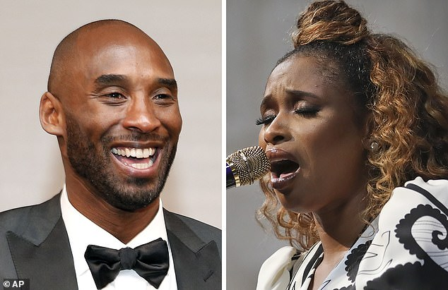 She is here for KB: Jennifer Hudson is set to perform a tribute to Kobe Bryant at the NBA All-Star Game