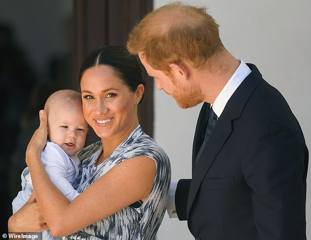 Family trip? It is not known whether Harry, 35, and Meghan, 38, took their son with them on the California trip, or whether they stayed on the West Coast to spend time with her mother Doria
