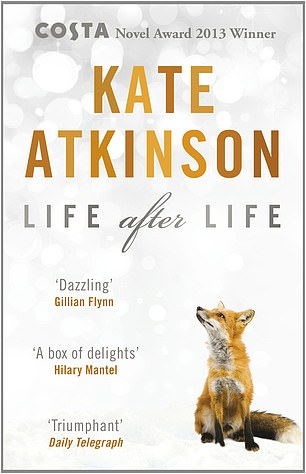 Clare would takeLife After Life, by Kate Atkinson (pictured) to a desert island