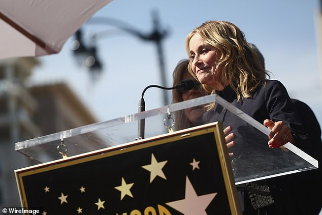 Marcia, Marcia, Marcia:Other famous faces who showed up included Maureen McCormick, who played Marcia Brady on the original run of ABC television sitcom The Brady Bunch
