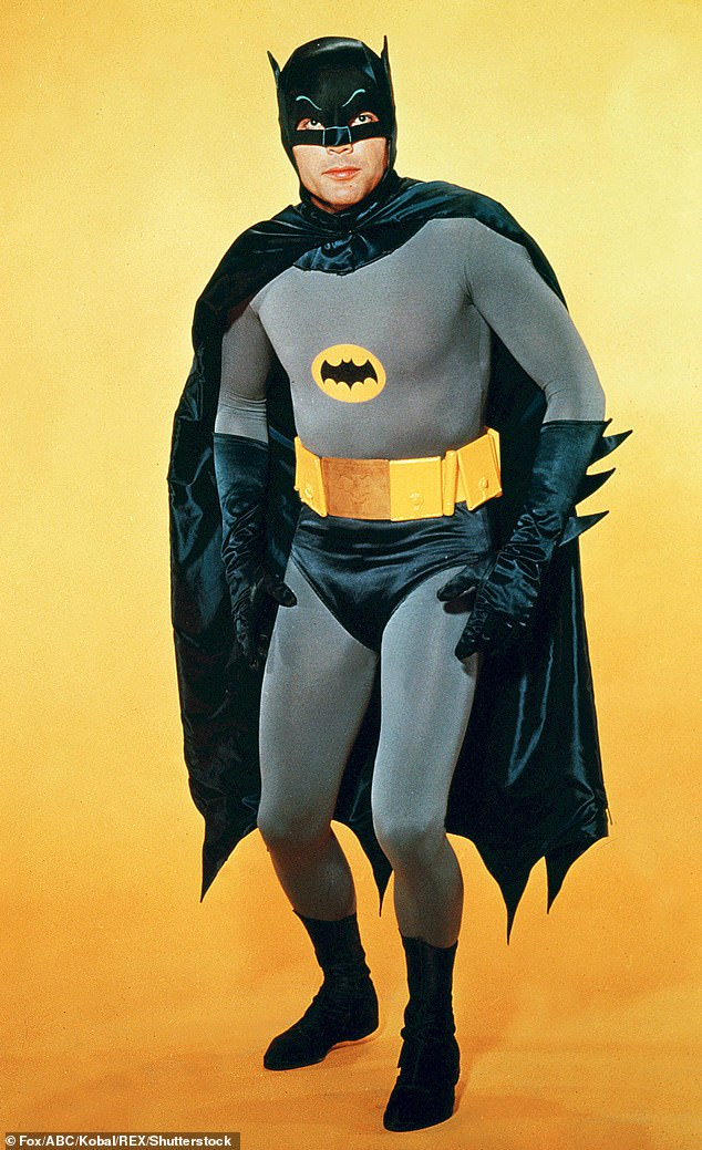 Adam West famously played Bruce Wayne on TV from 1966 to 1968 and the costume has evolved quite significantly in the movies that followed