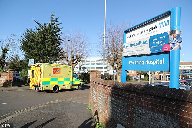 A doctor who spent two days working at Worthing Hospital's A&E department has tested positive for coronavirus