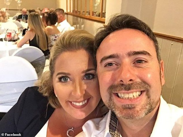 Mr Innes and Bayford (pictured) are said to have started their relationship after he approached her to help with a charity he was starting for male victims of domestic abuse