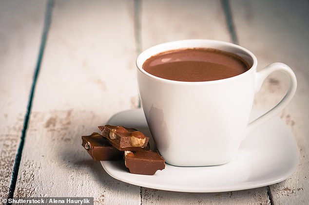 Drinking hot chocolate could help over 60s stay on their feet after a study suggests cocoa boosts blood circulation in the legs, study shows