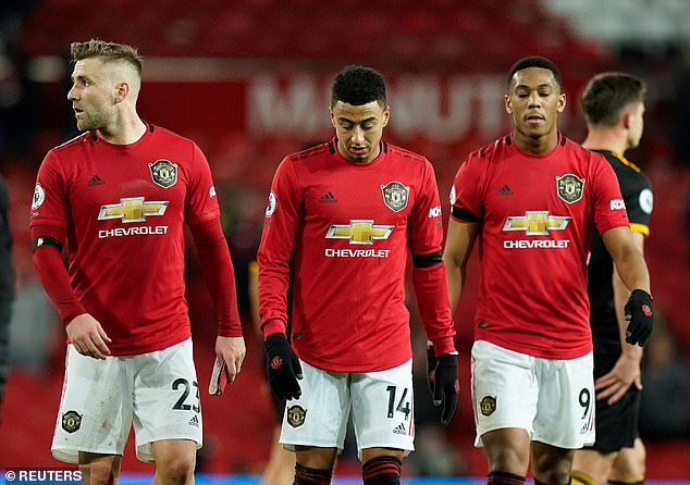 Manchester United have dropped down eight places and out of the top 10 in the list