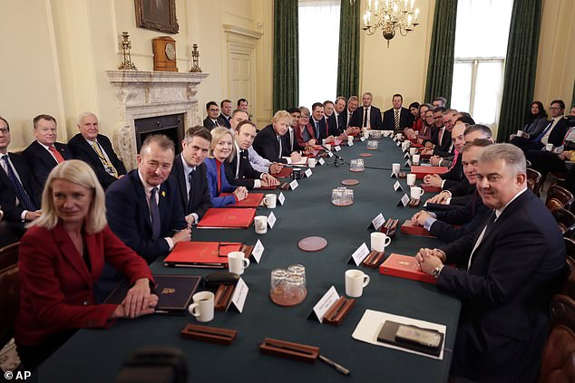 Mr Johnson yesterday conducted a brutal reshuffle which saw him sack numerous senior ministers
