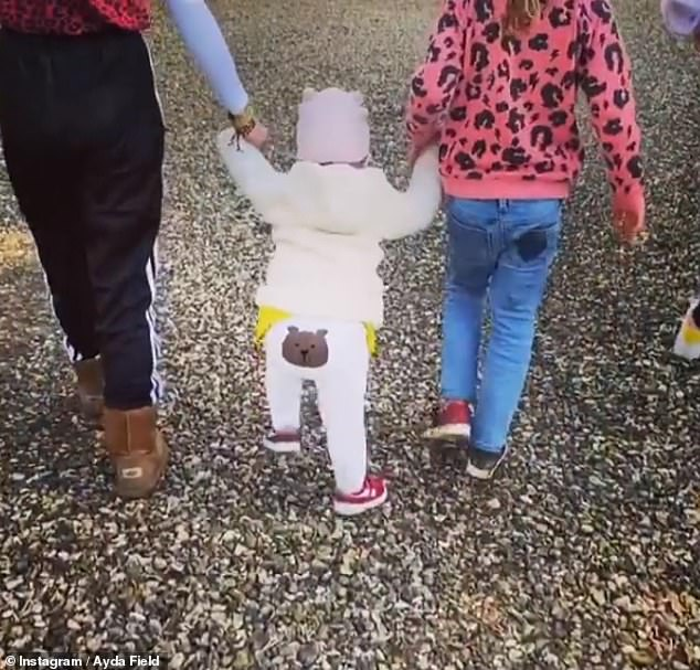 Sweet:In October 2019 Ayda admitted that she and Robbie were already keen to have a fourth child as a a 'teammate' for little Coco.