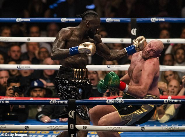 Wilder says Fury is 'crazy' if he attempts to come forward and trade with him next Saturday