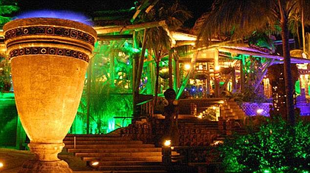 Nygard has lived on the islands since 1987, and owns a Mayan-themed mansion compound