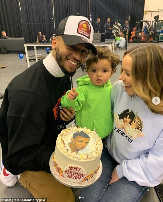 Times have changed: Aston welcomed son, Grayson Jax, in Janaury 2018 and revealed last month that his fiancée, Sarah Lou Richards, is expecting their second child