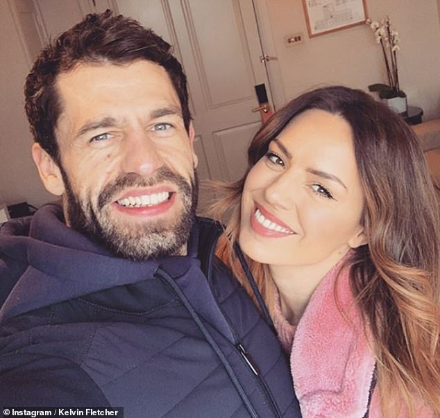 Shocking: The claims come after the Emmerdale star put on a united display with his wife in a loved-up Instagram snap as they marked Valentine's Day on Friday