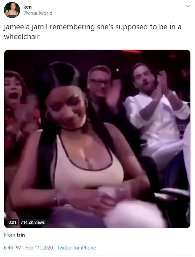 Throughout the week, various users have shared memes highlighting just how much of a roller coaster Jamil's health journey has been. Some of the responses have even prompted a rebuttal from the actress