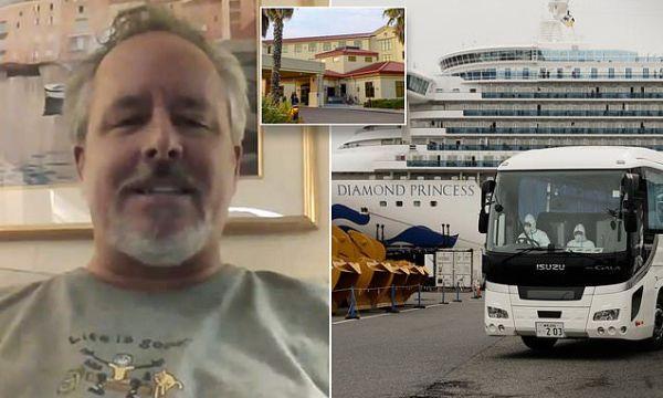 American passenger REFUSES to be evacuated from coronavirus cruise ship where 285 have fallen sick