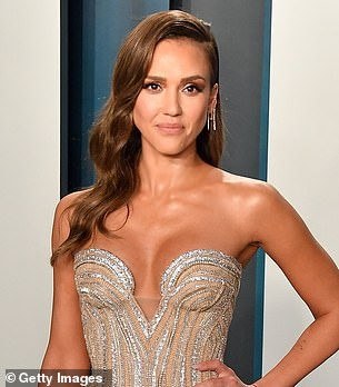 Sanders doubled for Jessica Alba in 2016