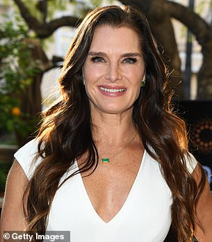 Sanders also doubled for Brooke Shields