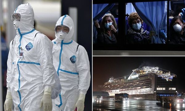 Another 70 people have been infected with coronavirus on Diamond Princess cruise ship