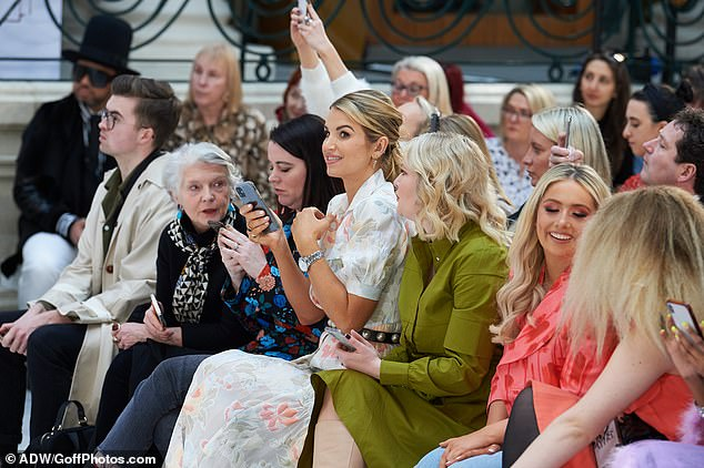 Passion for fashion: Vogue attended  Paul Costelloe's show as part of London Fashion Week, which showcases 250 designers on a global stage, promoting lines to influencers and retailers