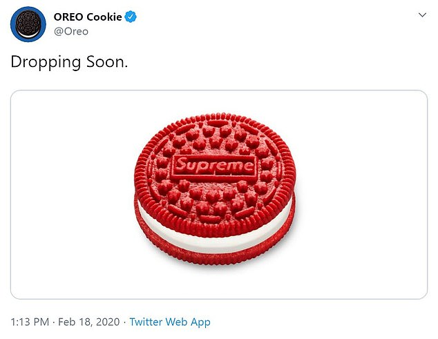 No joke! Oreo told a twitter commenter that the collab is 'for real! We are absolutely as excited as you are'