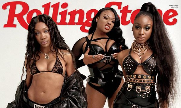 SZA, Megan Thee Stallion, and Normani cover Rolling Stone magazine